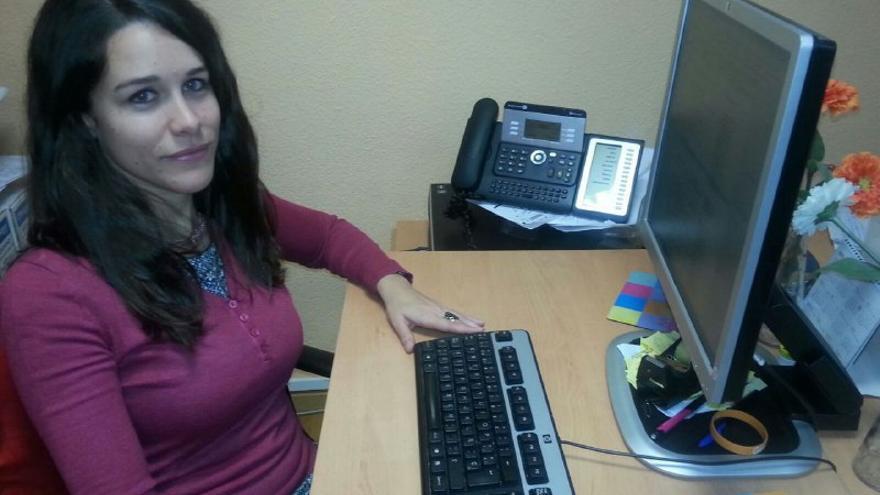 Luisa Nieto, psicóloga coordinadora del programa de intervención de la Fundación Aspacia para hombres que ejercen la violencia.