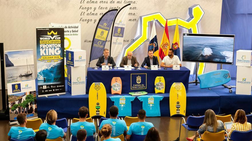 Presentación del Gran Canaria Frontón King 2018