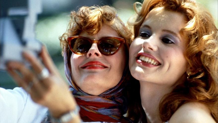 Thelma y Louise, artífices del selfie y musas feministas