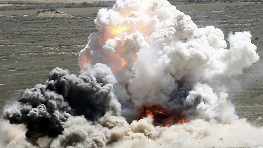 El Ejército del Aire prueba sus mejores armas en las Bardenas en el ejercicio Tormenta 2015