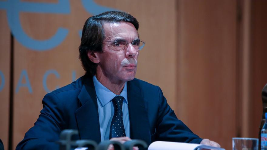 """Aznar defiende que el Supremo revise la sentencia sobre las hipotecas y avisa de """"populismo judicial"""" en este caso"""