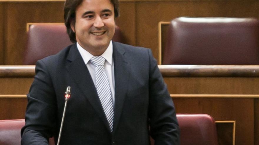 Diego Movellán, diputado nacional del PP por Cantabria.