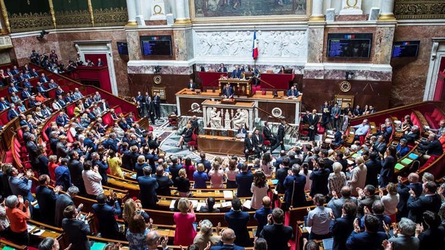 """Fracasa la segunda moción contra de censura el Gobierno de Macron por el """"caso Benalla"""""""