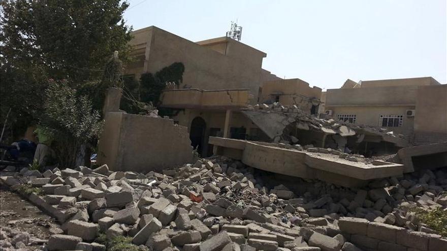 Al menos 23 yihadistas muertos en bombardeos en el norte de Irak