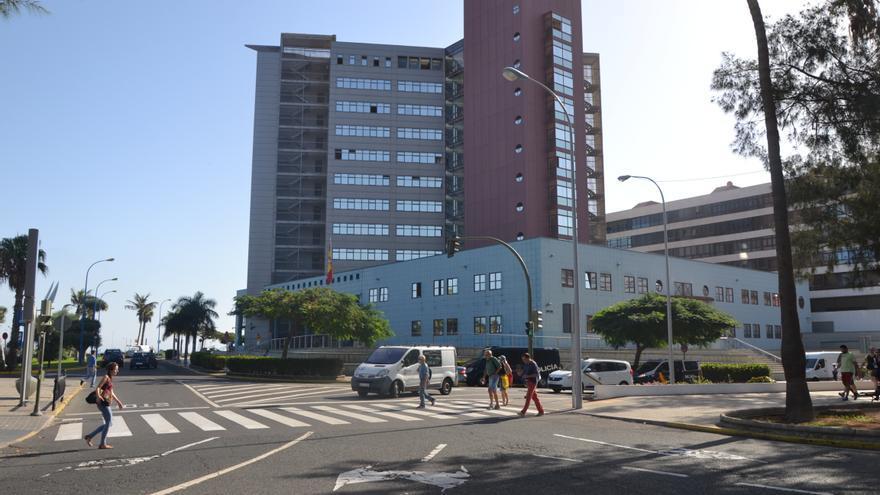 Supercomisaría de Las Palmas de Gran Canaria. (RAMSÉS RUIZ)