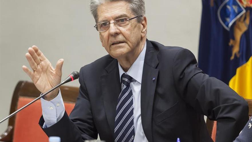 El exsecretario de Justicia, Julio Pérez Hernández. EFE/Ramón de la Rocha