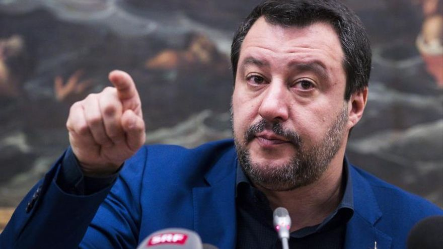 Salvini afirma que mañana habrá una posición de Italia en la crisis venezolana