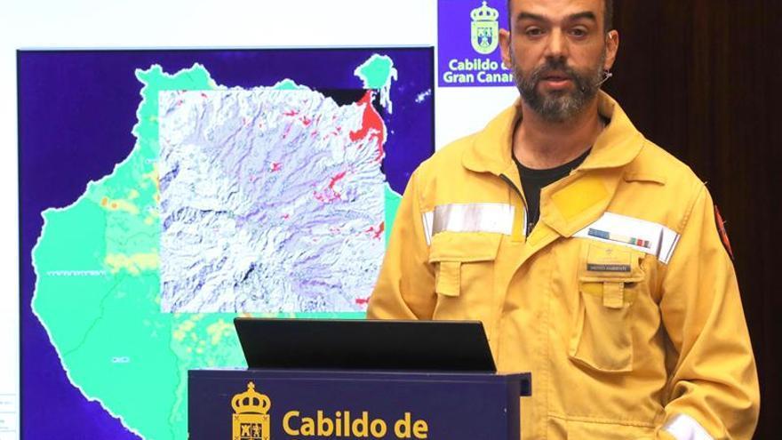 El director de Emergencias del Cabildo de Gran Canaria, Federico Grillo.