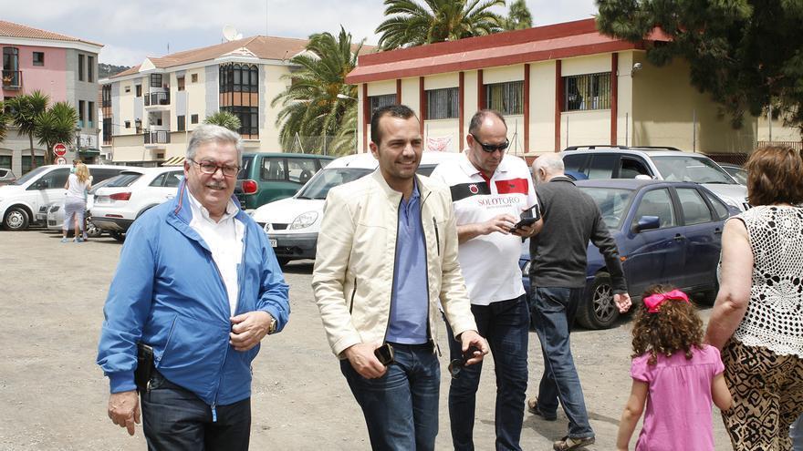 Bravo de Laguna y Martín Alexis Sosa (ALEJANDRO RAMOS)