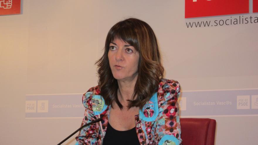 """Mendia asegura que no hay más corriente en el PSE-EE que la de Patxi López, que tiene un apoyo """"abrumador"""""""
