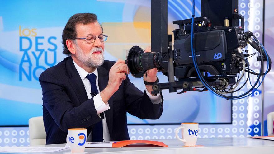 Mariano Rajoy en Los desayunos de TVE