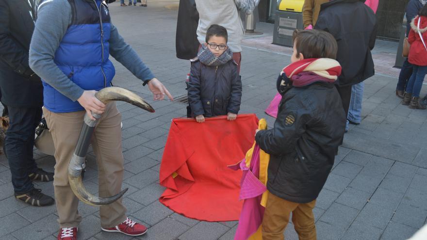 Niños toreando en Albacete / Foto: Javier Robla