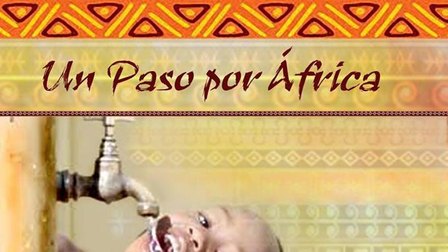 Cartel de la cena solidaria con África.