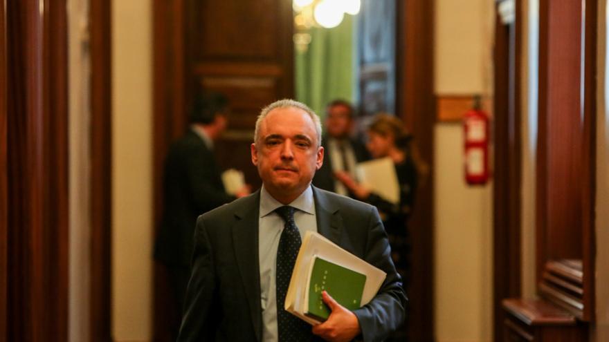 """Simancas ve """"ridículo"""" que el PP pida a la JEC suspender ruedas de prensa electoralistas del Gobierno"""
