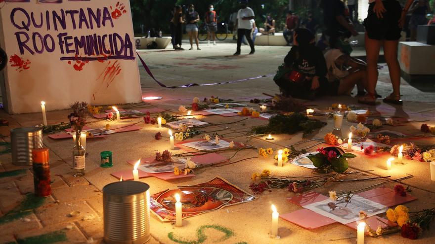 Feministas piden justicia por salvadoreña muerta a manos de policía en México