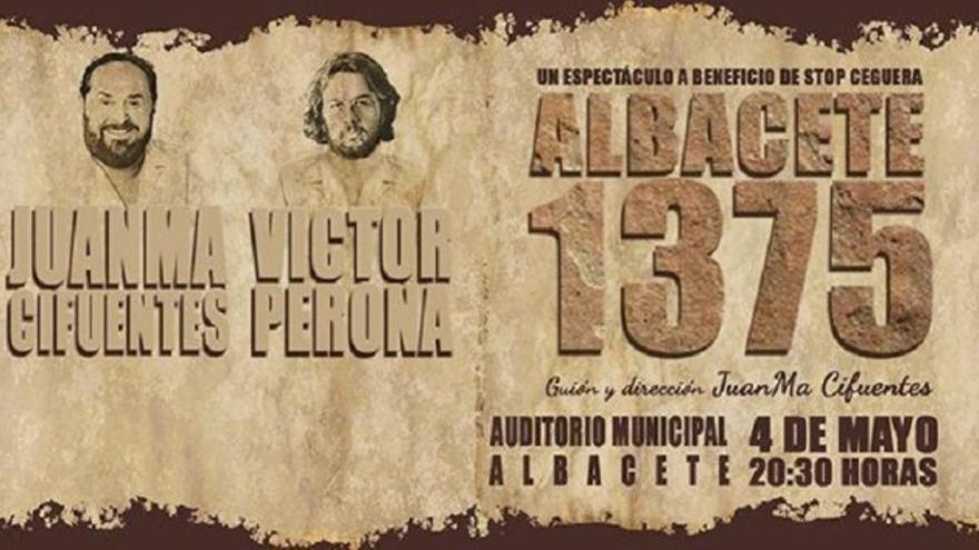 Cartel de la obra del albaceteño Juanma Cifuentes. Archivo.