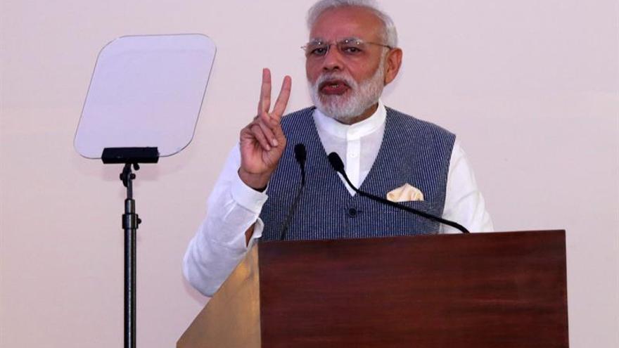 """Modi dice que el Ejército indio """"no es menos"""" que Israel tras los ataques quirúrgicos"""