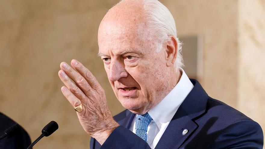 La ONU presentará una nueva propuesta para Siria en la primera mitad de septiembre