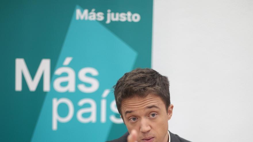 Errejón, en sintonía con los sindicatos, pide la derogación de la reforma laboral e incrementar pensiones con el IPC