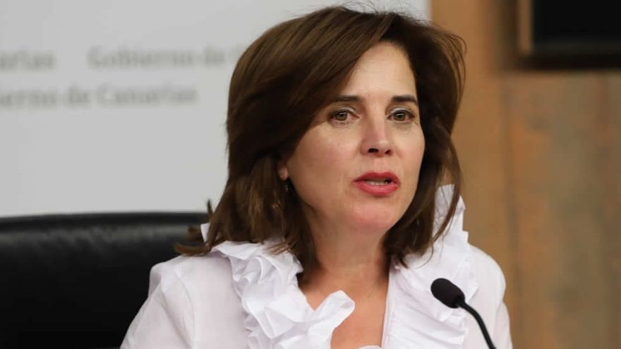 La exconsejera de Sanidad del Gobierno de Canarias, Teresa Cruz Oval
