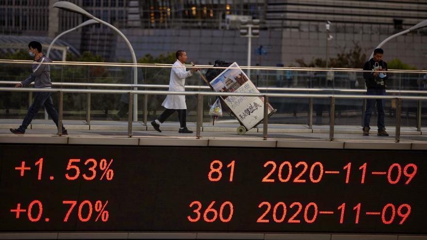 El Hang Seng repunta y sube un 1,83 % en una buena jornada para las digitales