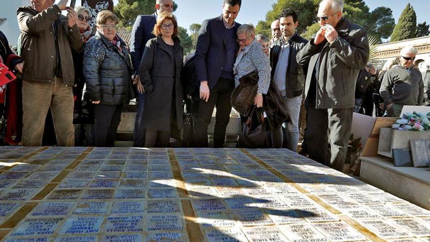 El PSOE pide reformar la Ley de Memoria Histórica para garantizar su eficacia