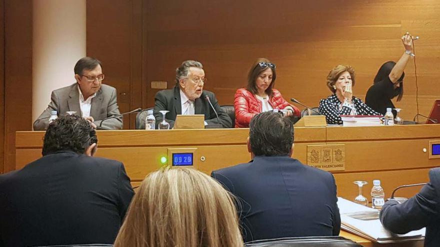 El exvicealcalde de Valencia, Alfonso Grau, comparece en la comisión de Feria Valencia en las Corts