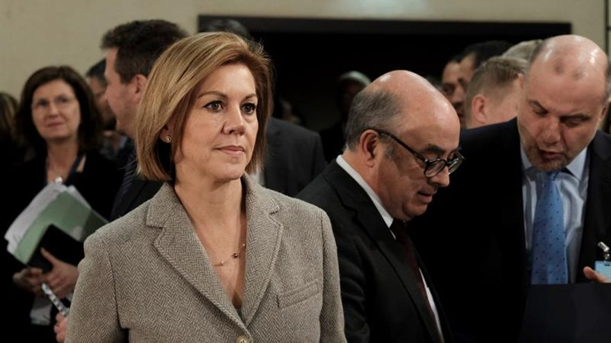 La Asamblea de Madrid cita a Cospedal para informar sobre contrato de metro ligero
