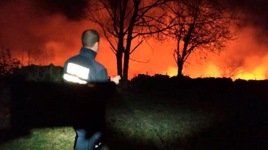 Baja a 32 el número de incendios en Cantabria