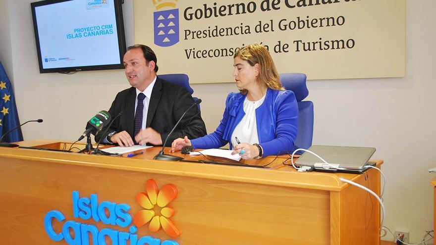 El viceconsejero de Turismo del Gobierno de Canarias, Ricardo Fernández de la Puente