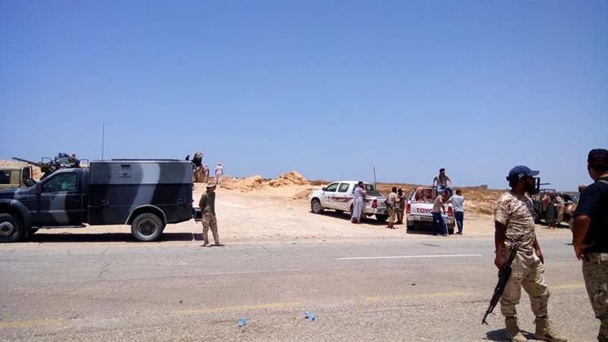 Muertos 2 milicianos de la alianza libia en combates en el centro de Sirte
