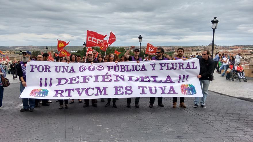 Manifestación 1 de mayo en Toledo