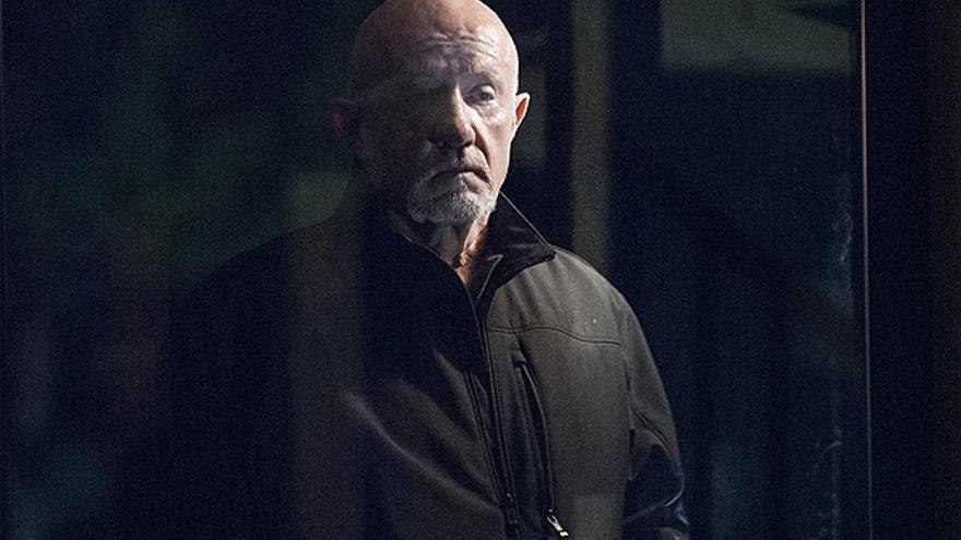 Jonathan Banks, como Mike Ehrmantraut en 'Better Call Saul'