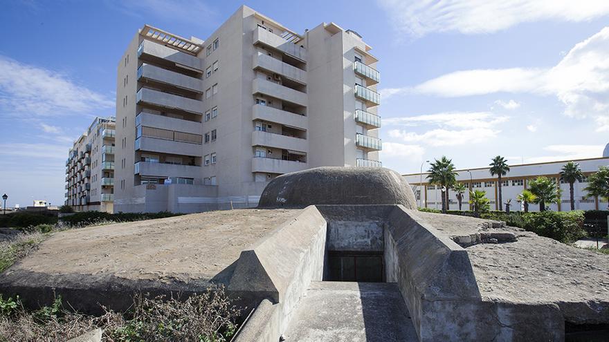 Fortificaciones en La Línea (Cádiz).