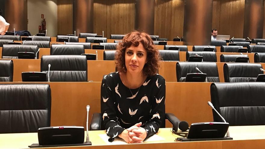La diputada de En Marea Alexandra Fernández anuncia que abandona la primera línea política