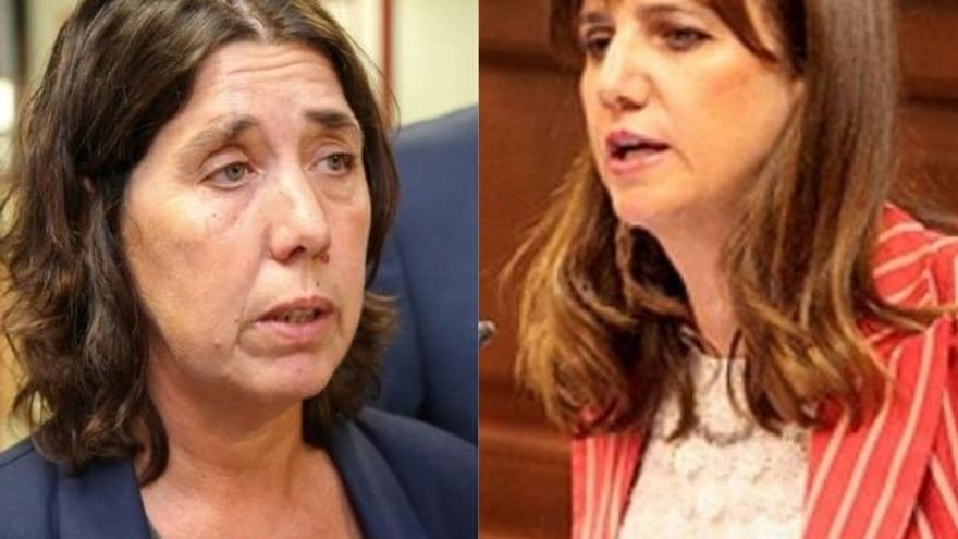 Las exconcejalas de La Laguna por Coalición Canaria Blanca Pérez y Flora Marrero, investigadas por presuntas contrataciones irregulares