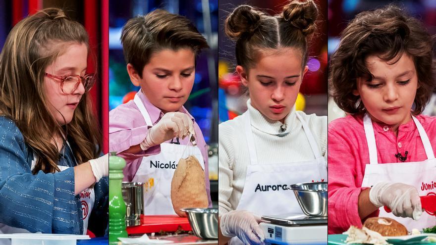 Los cuatro finalistas de 'Masterchef Junior 8'