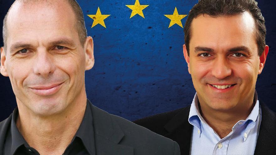 Varoufakis y De Magistris