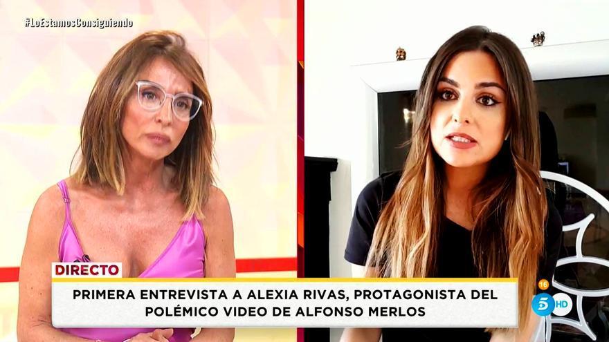 Alexia Rivas entrevistada en 'Socialité'