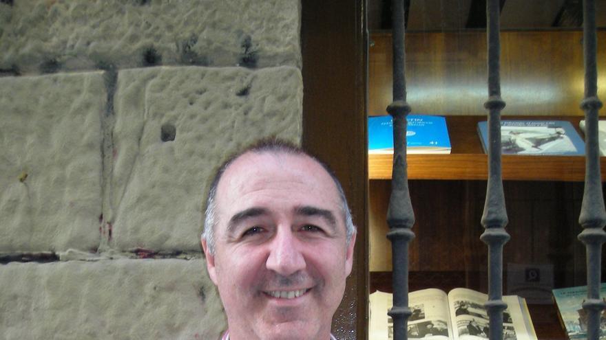 Juan Erviti, doctor en Farmacia y jefe de la Sección de Información y Asesoría del Medicamento del Servicio Navarro de Salud.