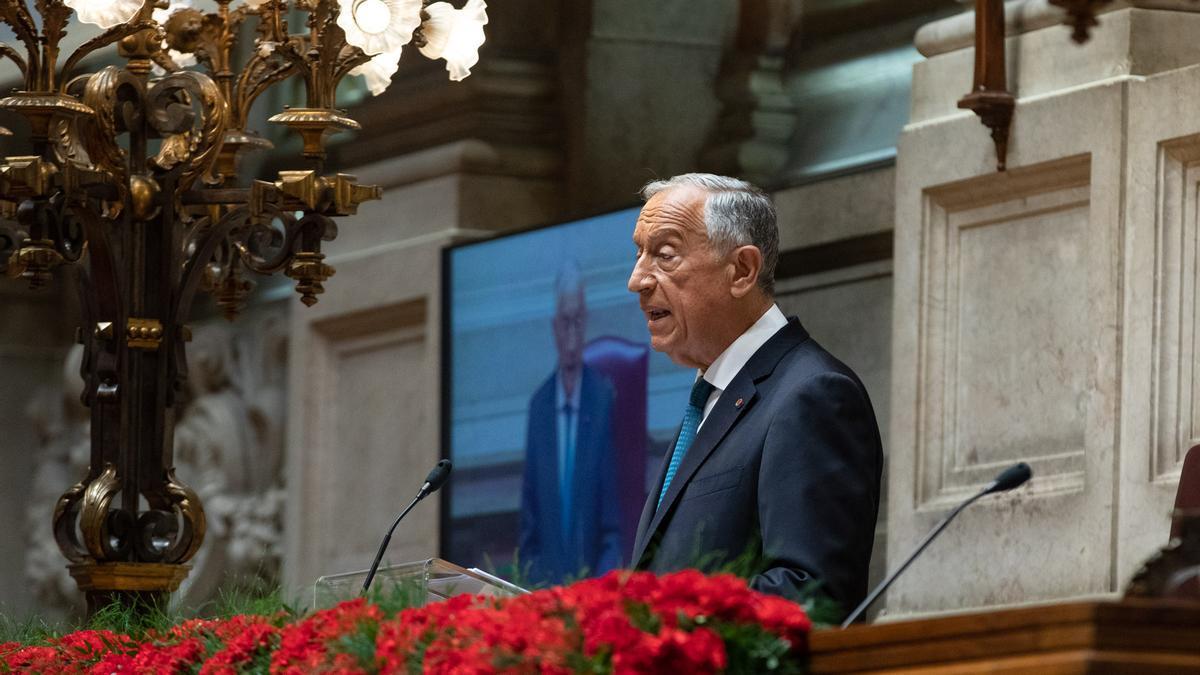 Marcelo Rebelo de Sousa, presidente de Portugal, ha anunciado esta noche que no prorrogará el estado de emergencia