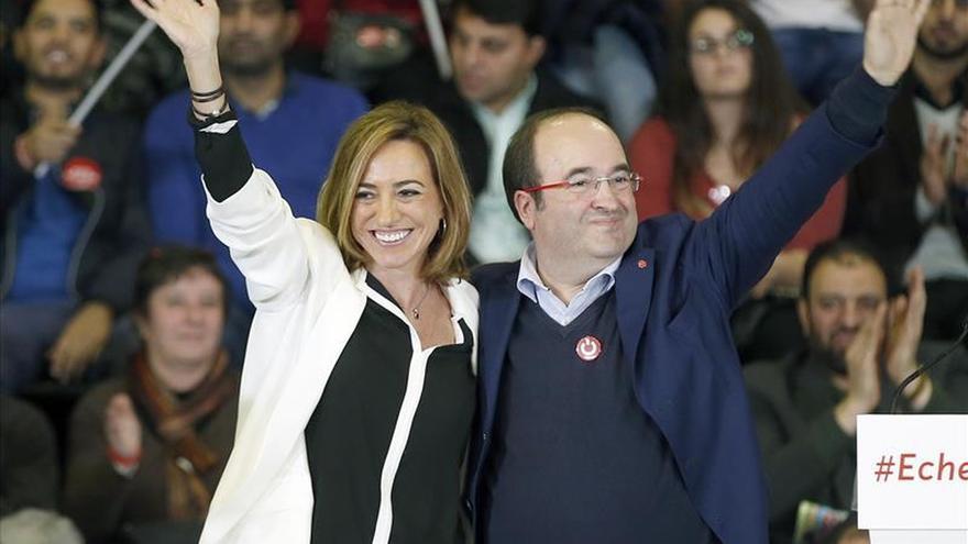 Chacón: Sólo el voto al PSOE garantiza la reforma real de la Constitución