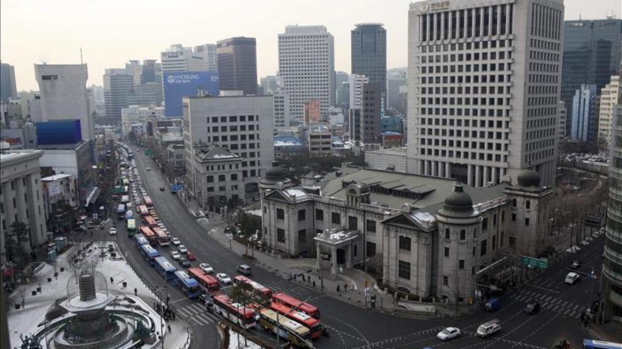 El PIB de Corea del Sur crece un 2 % en 2012, el menor avance en tres años