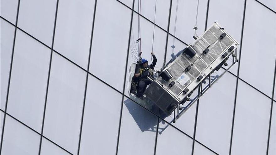 Los limpiacristales rescatados del WTC relatan su espectacular accidente