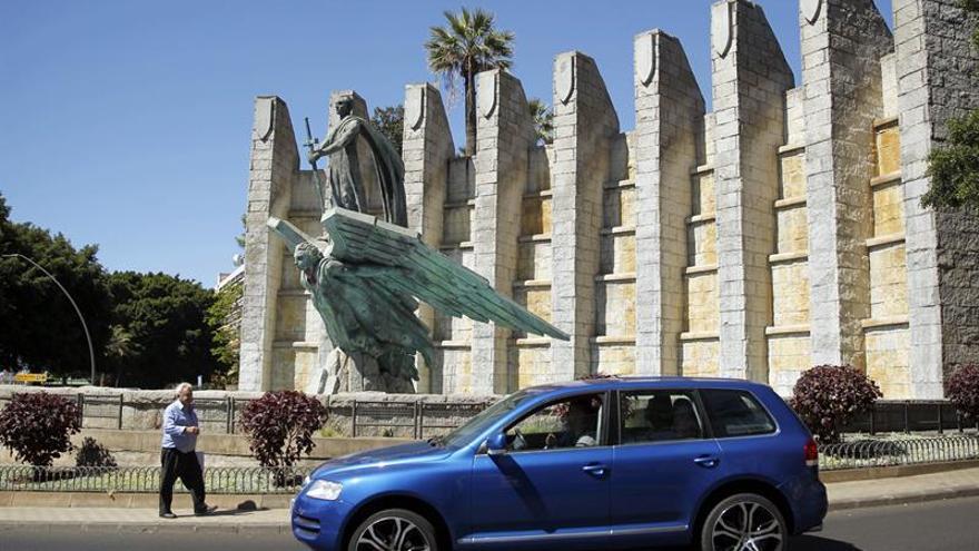Monumento a Franco en Santa Cruz de Tenerife
