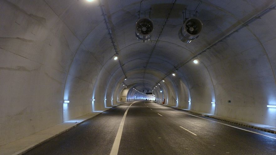 Los túneles de Belate y Almandoz se cortarán al tráfico hasta el miércoles a la noche por trabajos de mantenimiento