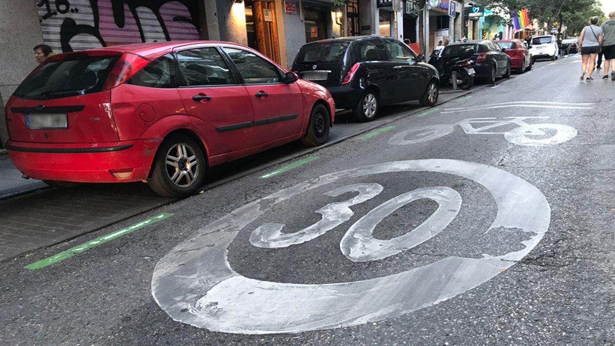 Imagen de archivo de la calle Hortaleza, una de las que la ciudadanía quiere peatonalizar | SOMOS CHUECA