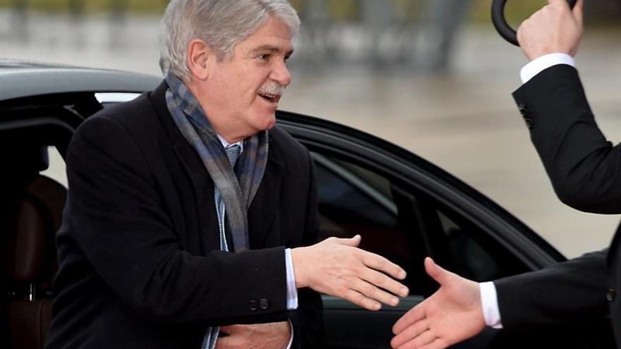 """Dastis busca un """"primer intercambio"""" con Tillerson en el G20 de Exteriores"""