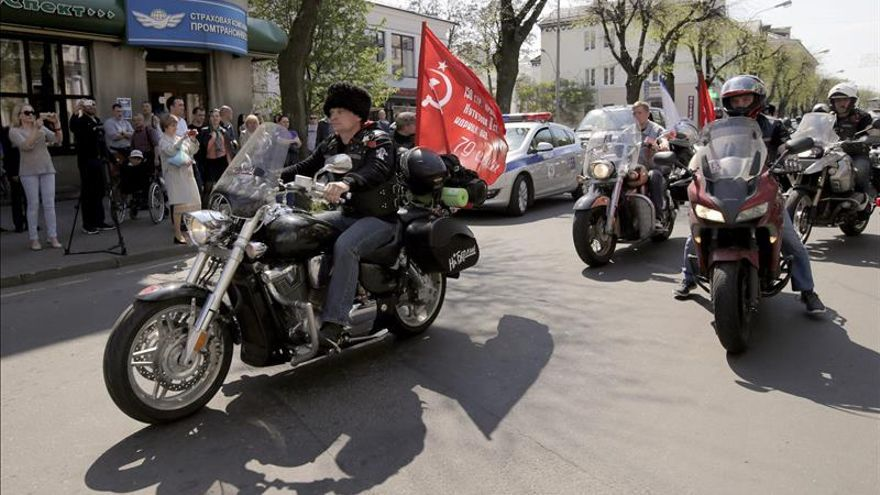 Lituania prohíbe la entrada a moteros nacionalistas rusos rumbo a Berlín