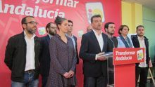 """Maíllo cree que los andaluces han percibido como """"un error"""" el pacto con PSOE."""